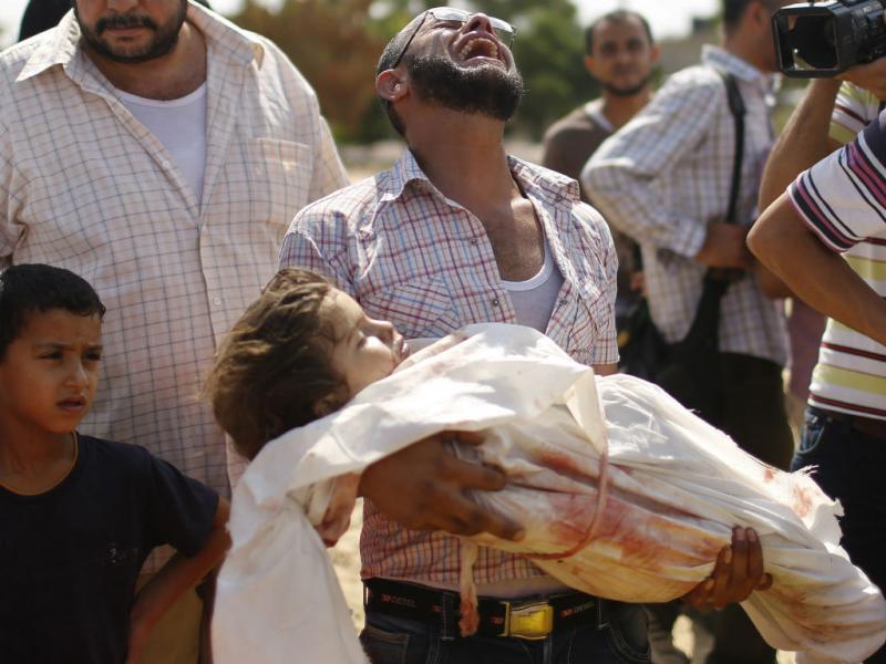 Gaza, as imagens aterradoras (Reuters)