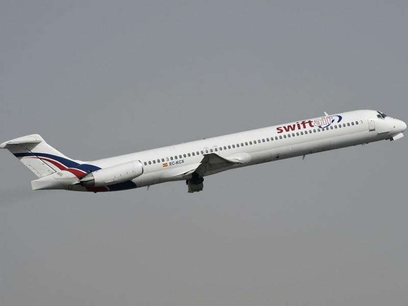 MD83 da SwiftAir (Foto: planespotters.net)