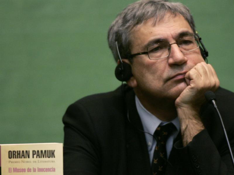 Orhan Pamuk (REUTERS)