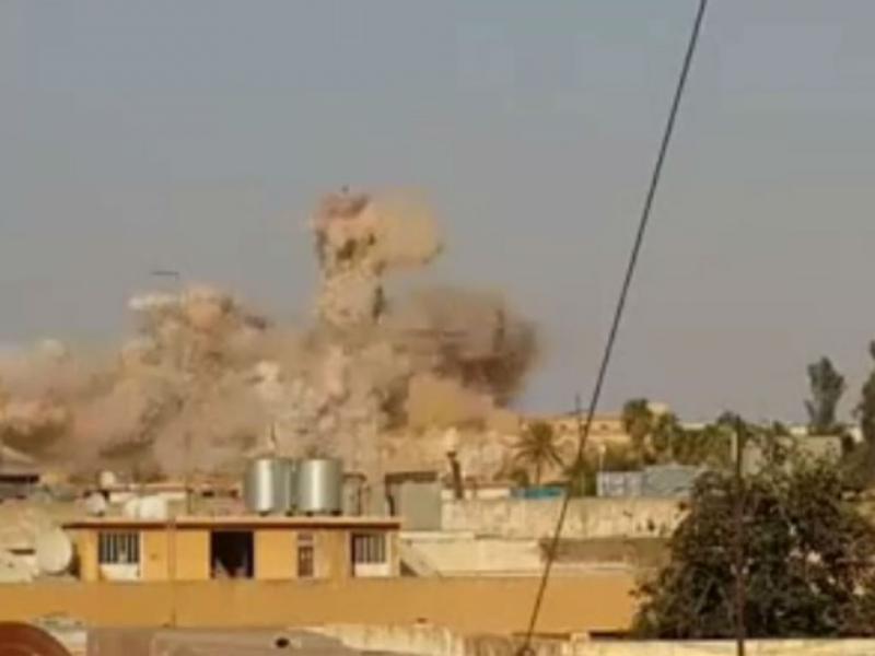 Iraque: vídeo mostra destruição de templo sagrado
