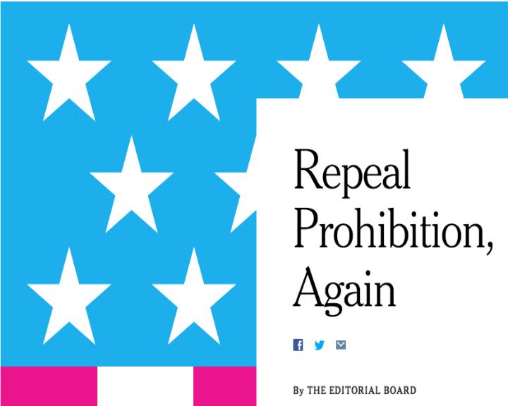 «The New York Times» defende legalização da marijuana em editorial