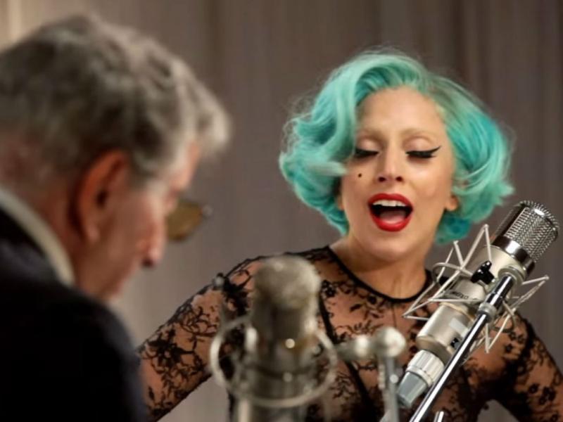 Lady Gaga e Tony Benett (Reprodução Youtube)