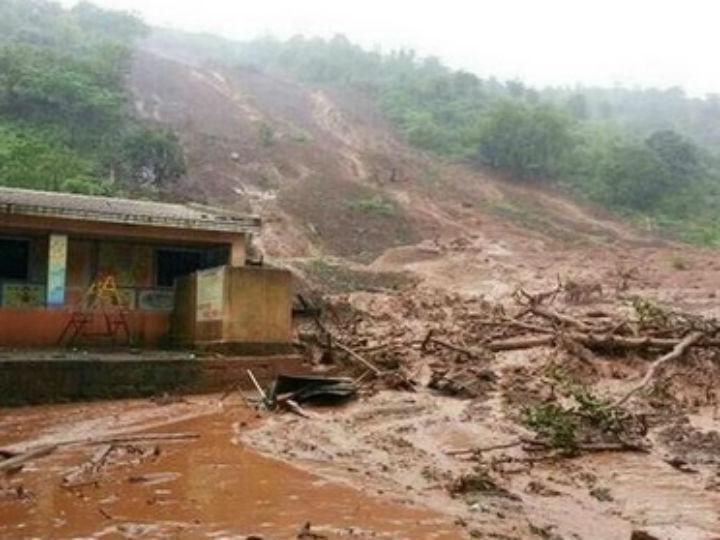 Deslizamento de terras na Índia (Twitter)