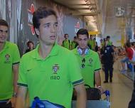 Sub-19: seleção de regresso a Portugal