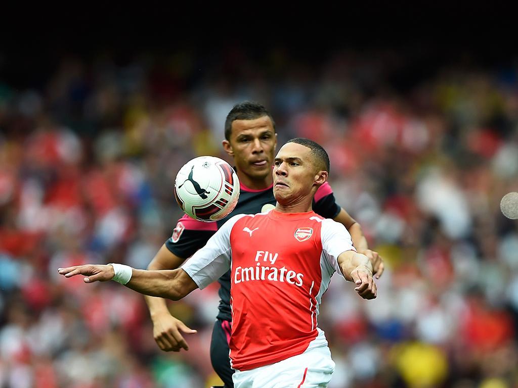 Arsenal vs Benfica (Reuters)