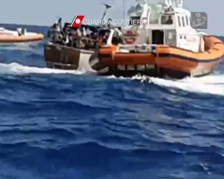 Imigrantes resgatados