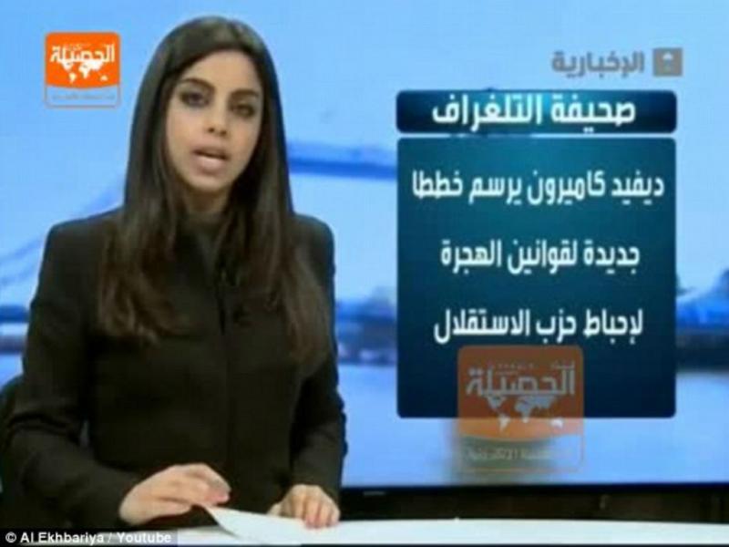 Jornalista sem véu islâmico causa polémica (Reprodução YouTube)