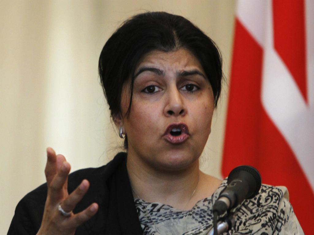 Sayeeda Warsi (Reuters)