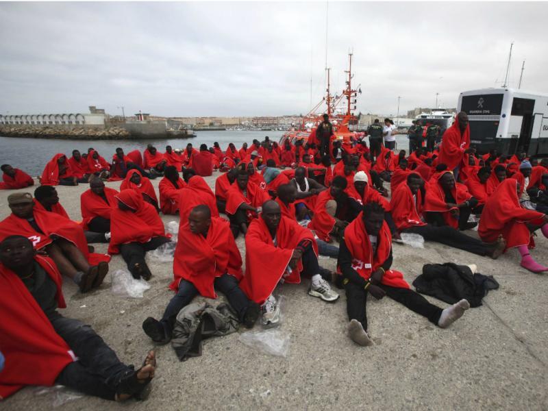 Imigrantes ilegais [Lusa]