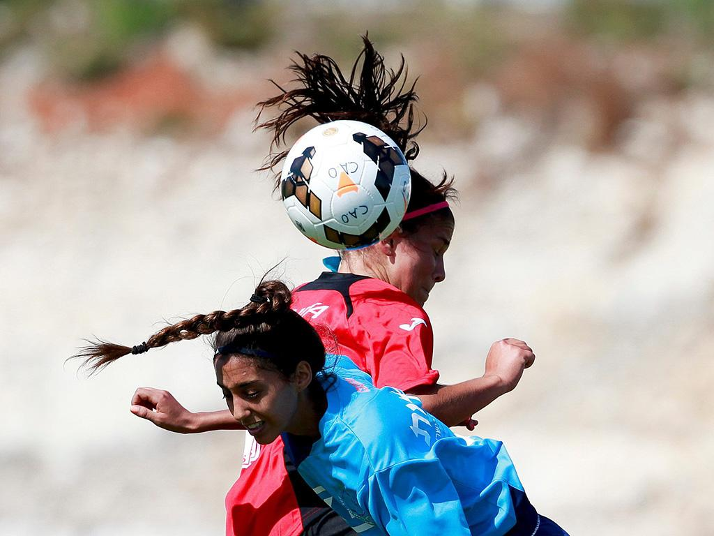 Champions League Feminino: Atlético Ouriense vs ASA Tel-Aviv University  (LUSA)