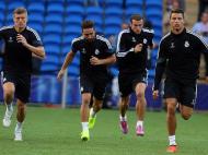 Treina do de preparação para o jogo Real Madrid vs Sevilha (EPA)