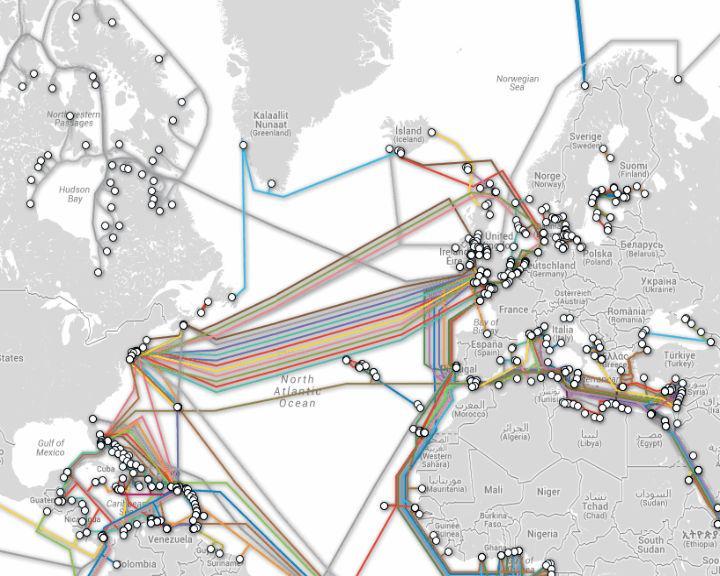 Novo cabo submarino vai permitir uma grande velocidade da Internet
