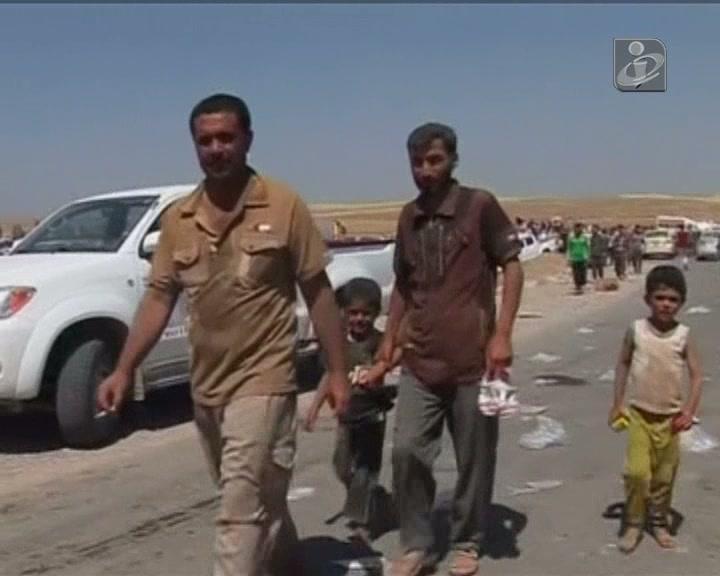 Iraque: dezenas de milhares de yazidis encurralados na montanha de Sinjar