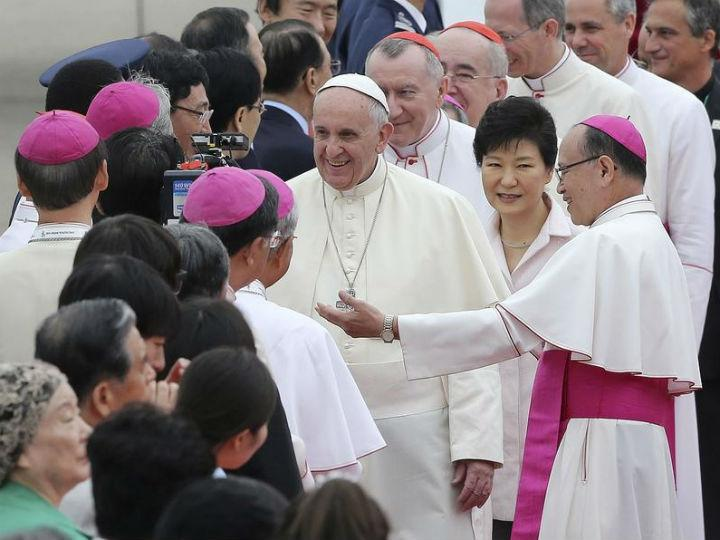 Papa Francisco na Coreia do Sul [Reuters]