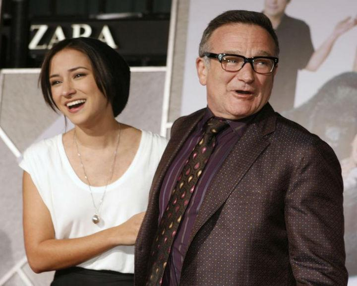 Zelda Williams abandonou as redes sociais depois da morte do pai, o ator Robin Williams (Reuters)