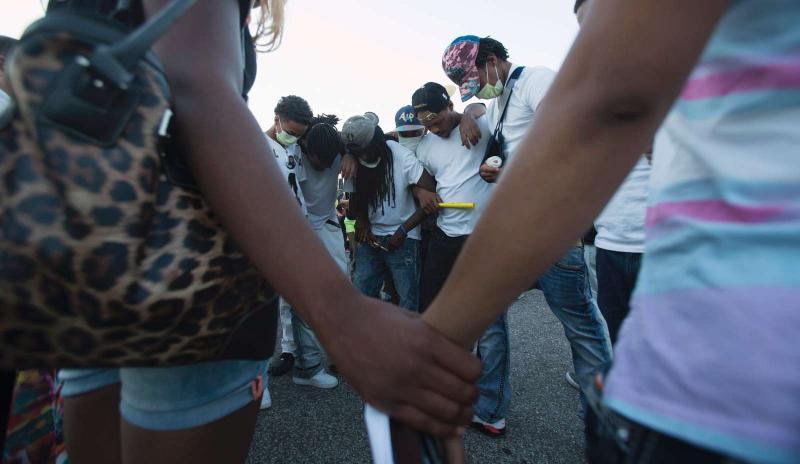 Protestos no Missouri, EUA, depois da morte de jovem negro (REUTERS/Mario Anzuoni)