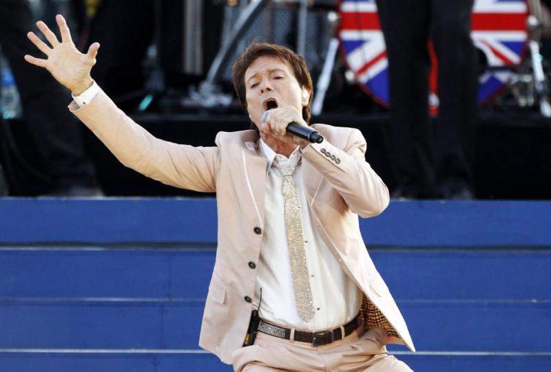 Cliff Richard em 2012 durante as Comemorações do Jubileu da Rainha Foto: Reuters