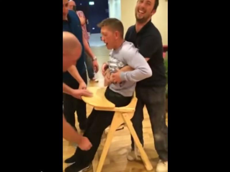 As cadeiras de bebés são para bebés