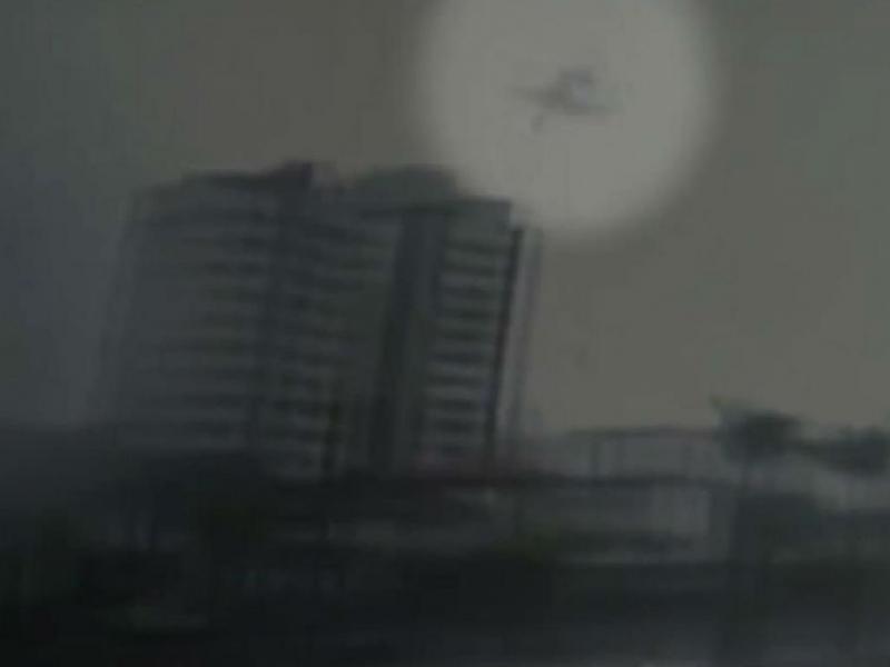 Vídeo mostra queda de avião de Eduardo Campos (Reprodução Youtube)