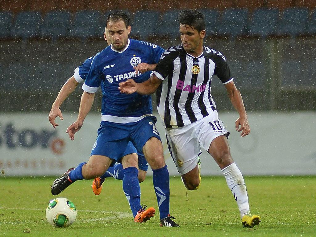 FC Dinamo Minsk vs CD Nacional (Lusa)