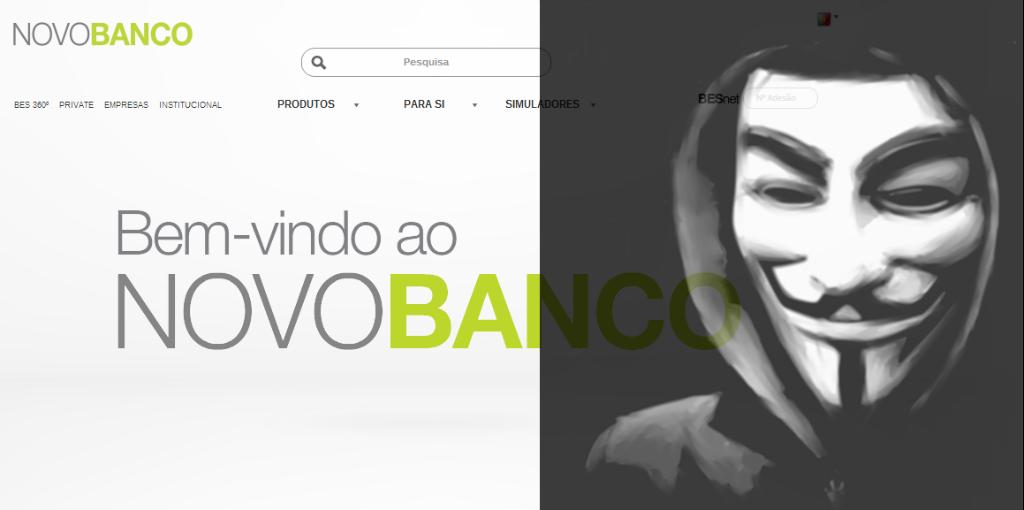 Hackers portugueses voltam a atacar banca e governo [Produção/Facebook/OutsideTheLaw]