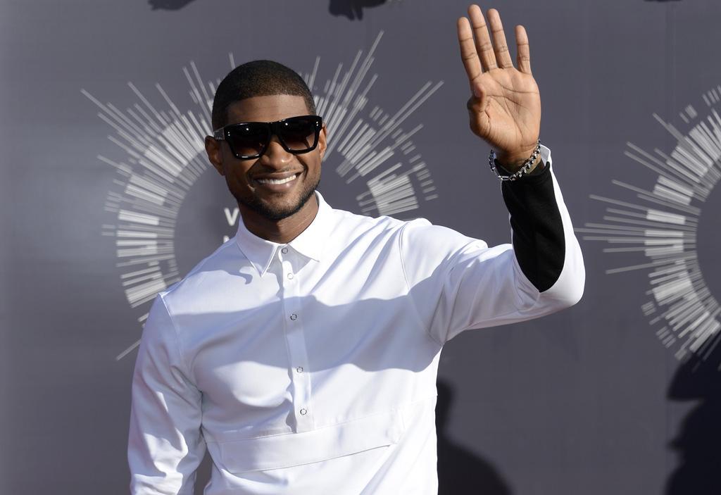 Usher - 2014 MTV Video Music Awards em Inglewood Foto: Reuters