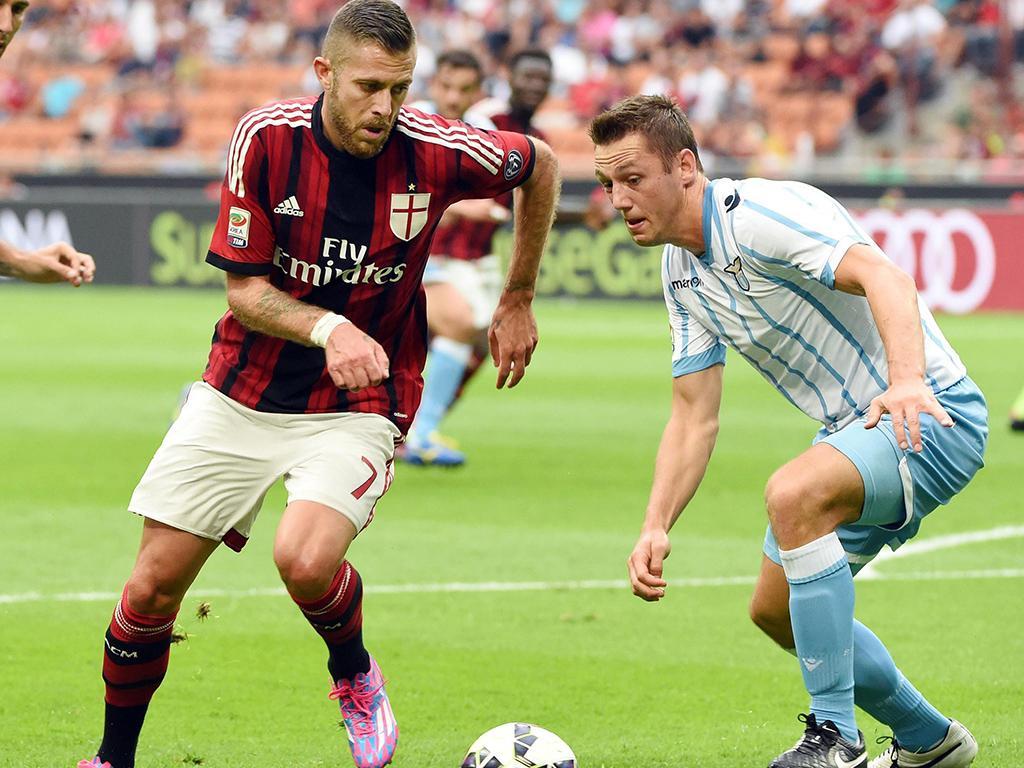 AC Milan vs Lázio (EPA)