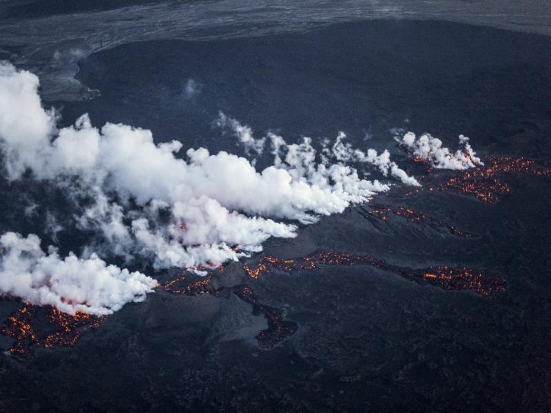 Islândia: vulcão Bardarbunga em erupção (REUTERS)