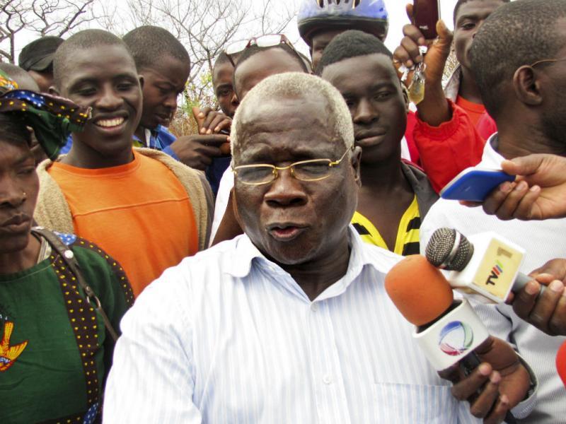 Afonso Dlhakama, líder da Renamo [Foto: EPA]