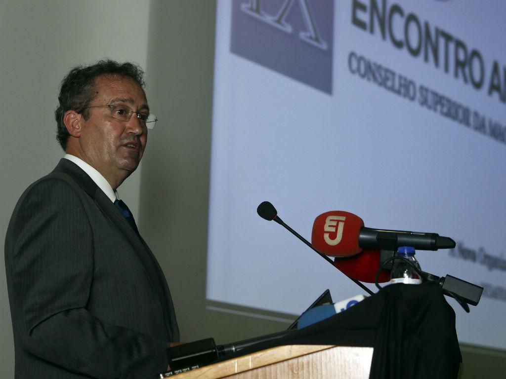 António Henriques Gaspar, presidente do Supremo Tribunal de Justiça [Foto: Lusa]