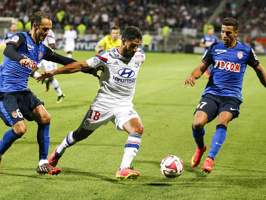 Lyon vs Mónaco (EPA)