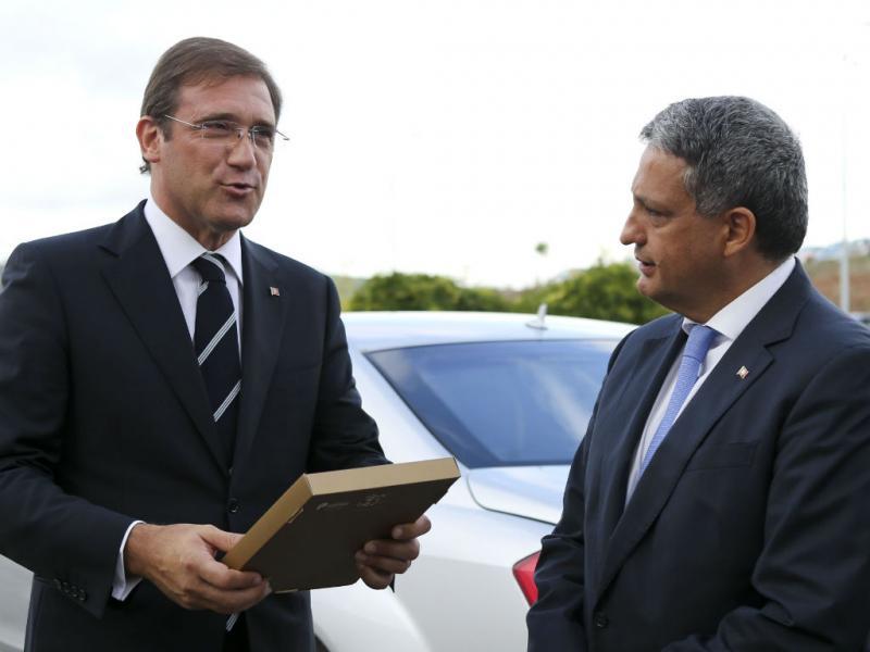 Passos Coelho e Paulo Macedo [Foto: Lusa]
