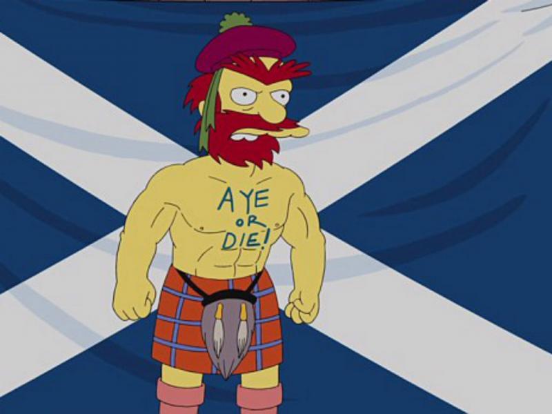 Contínuo Willie de «Os Simpsons» (Reprodução YouTube)
