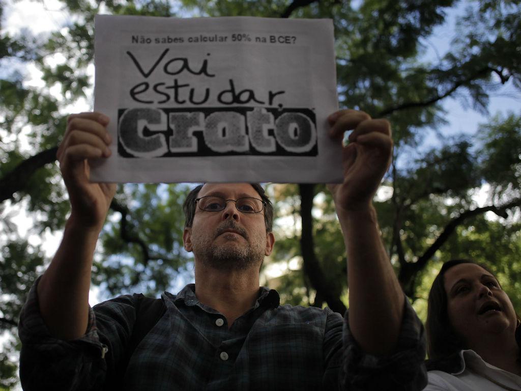 Manifestação de professores [Foto: Lusa]