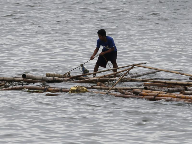 Destroços do tufão Kalmaegi [REUTERS]