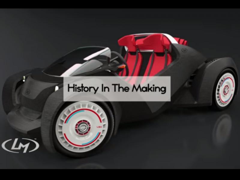 Strati, o primeiro carro impresso numa impressora 3D