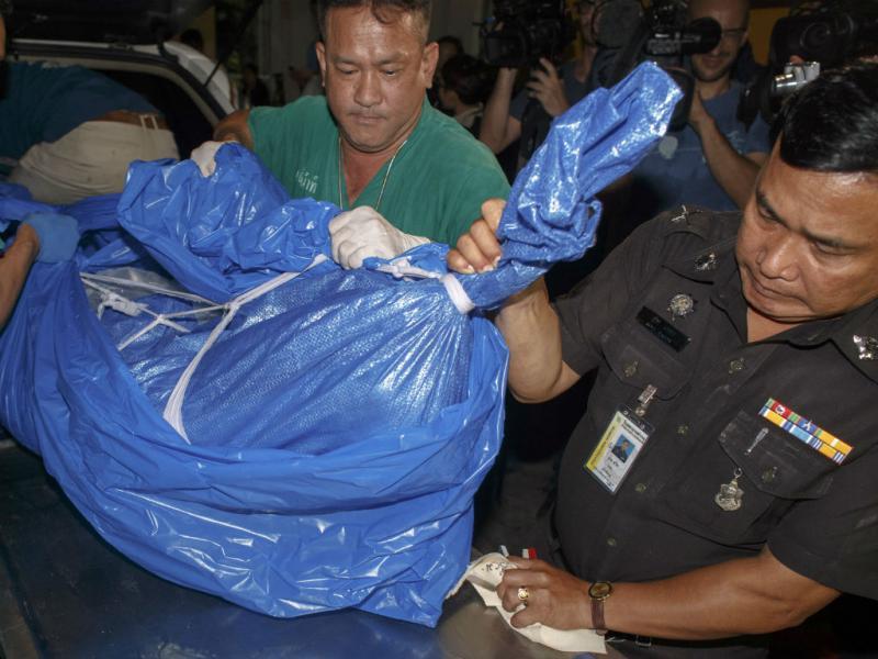 Dois turistas britânicos assassinados na Tailândia (Athit Perawongmetha/Reuters)