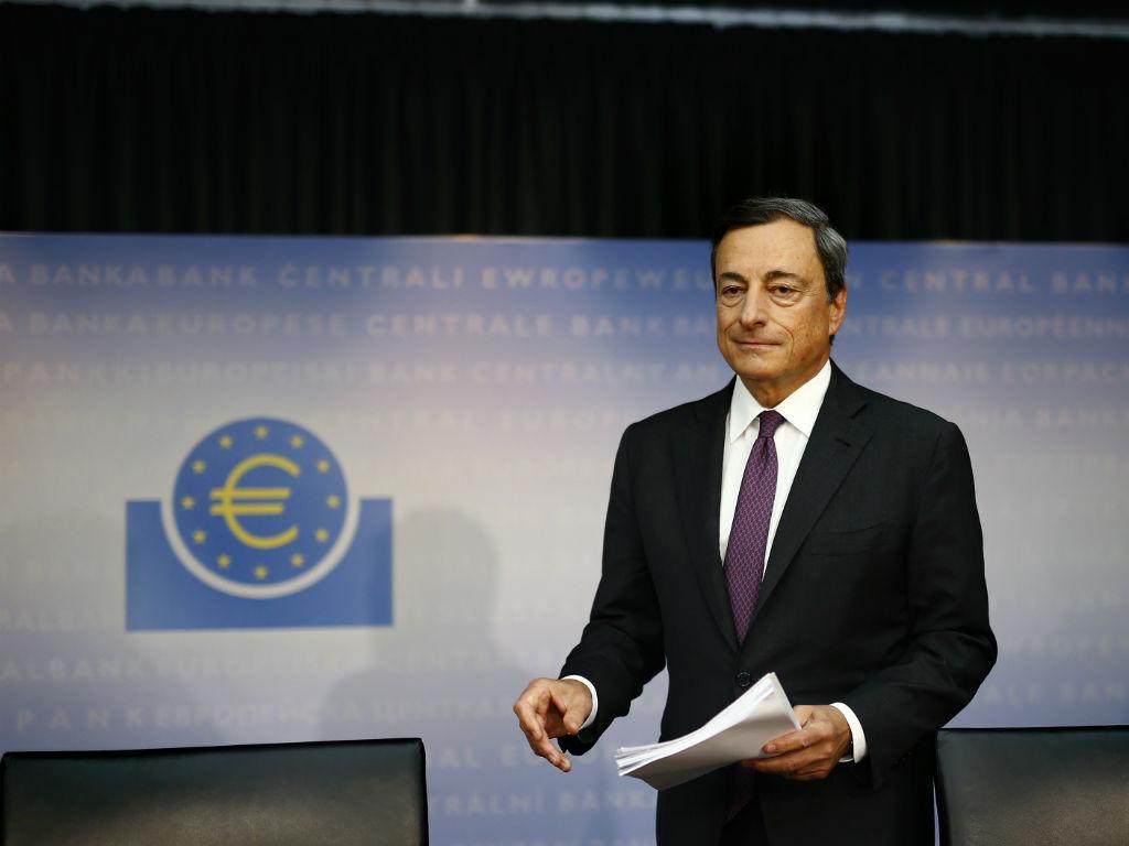 Mario Draghi, BCE [Reuters]