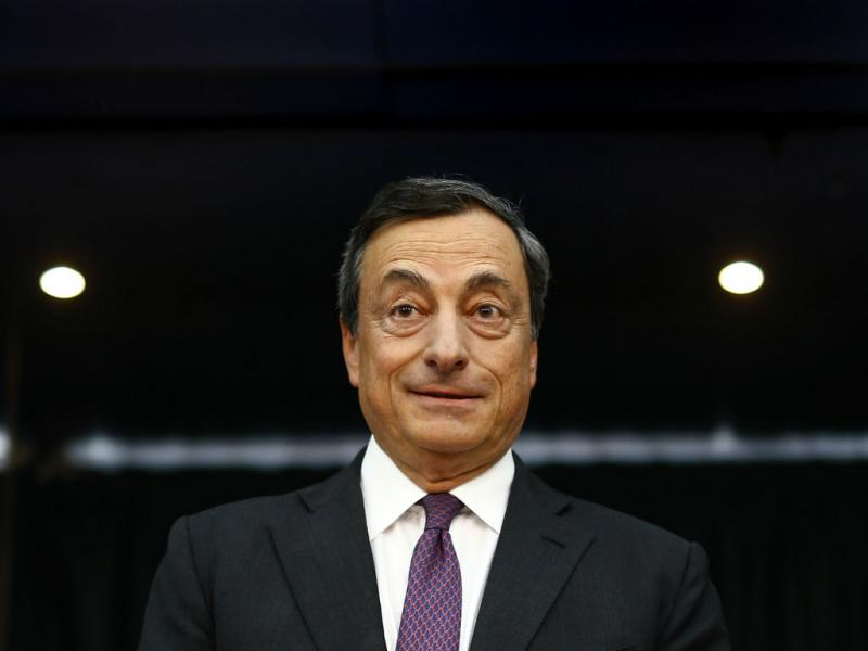 Mario Draghi, BCE [Reuters]