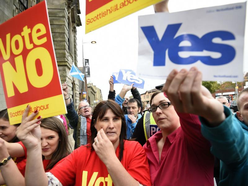Referendo na Escócia  [Reuters]