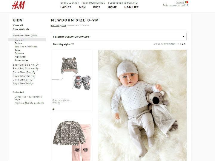 h&M retira bola para bebé do mercado