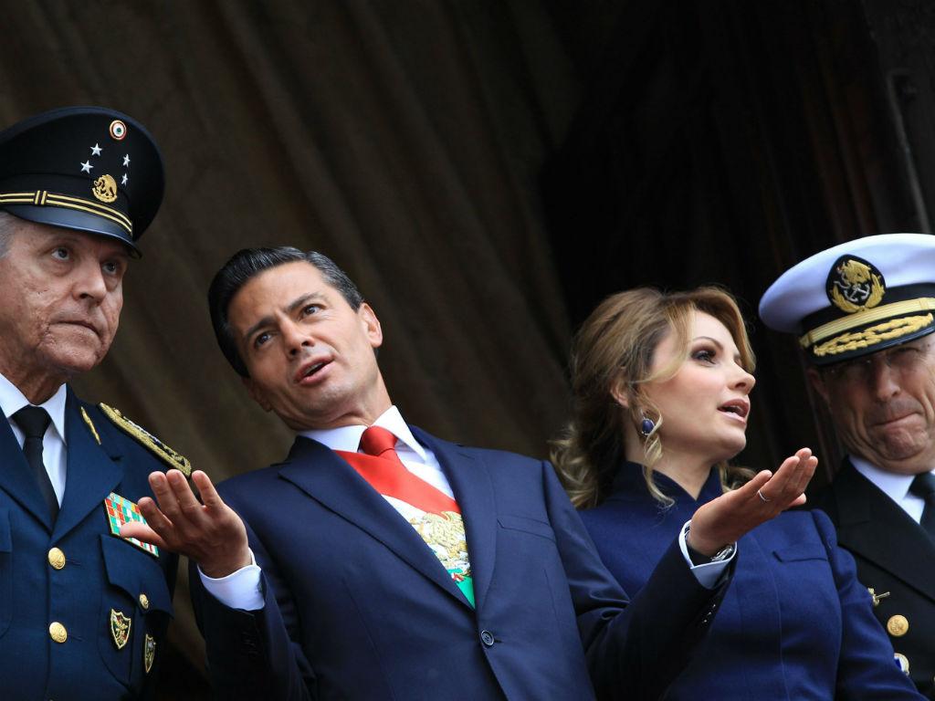 Enrique Pena Nieto, presidente do México [Foto: EPA]