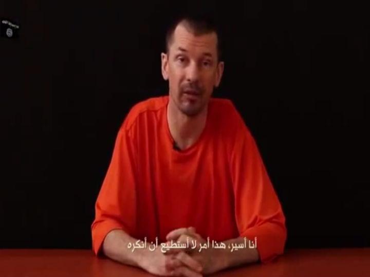 Estado Islâmico divulga novo vídeo com o fotojornalista John Cantlie, que foi sequestrado na Síria há mais de dois anos