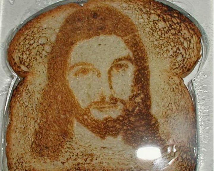 Estudo sobre pessoas que veem Jesus em torradas distinguido