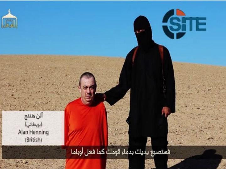 Alan Henning foi sequestrado pelos jihadistas em dezembro do ano passado (Youtube)
