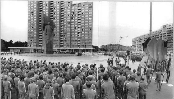 Estátua de Lenin em Berlim