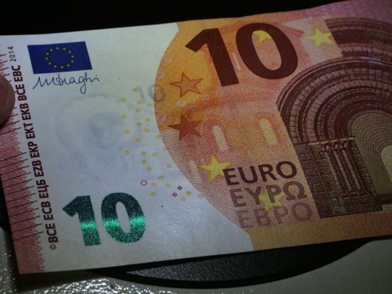 Nova nota de 10 euros [Foto: Lusa]