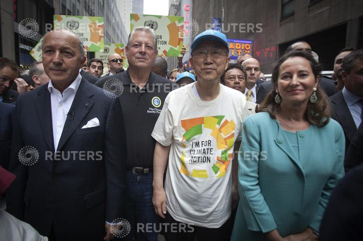Marcha pelo Clima em Nova Iorque