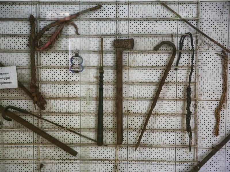 Instrumentos de tortura [Reuters]
