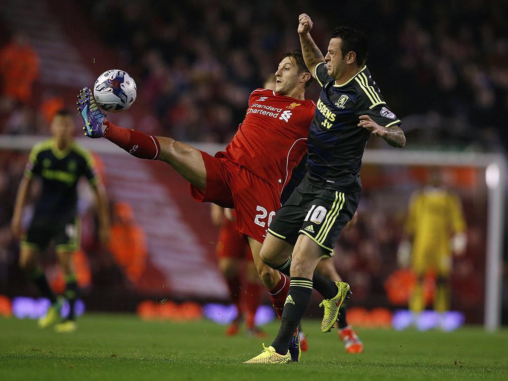 Liverpool vs Middlesbrough (REUTERS)